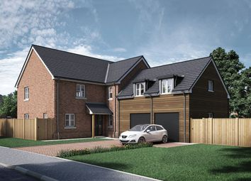 Thumbnail 5 bed detached house for sale in Steventon Road, East Hanney, Oxfordshire
