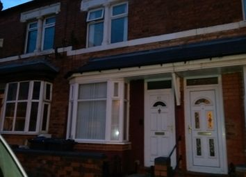 Thumbnail 3 bedroom terraced house to rent in Ludlow Road, Alum Rock