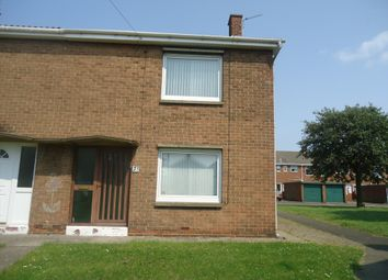 Thumbnail 2 bed end terrace house to rent in Kirkley Drive, Ashington