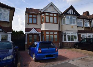 Thumbnail 4 bed semi-detached house for sale in Christie Gardens, Chadwell Heath, Romford