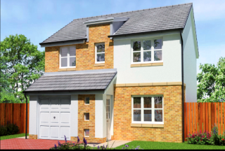 Thumbnail 4 bed detached house for sale in Craigsmill Wynd, Caldercruix, Airdrie