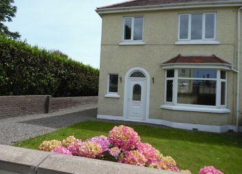 Thumbnail 3 bed semi-detached house to rent in Homefield Villas, Ballasalla