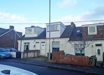 Thumbnail 3 bed terraced house for sale in Biggar Road, Cleland, Motherwell