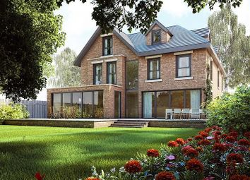 Thumbnail 5 bed detached house to rent in Eyebrook Road, Bowdon, Altrincham