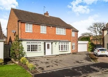 Thumbnail 5 bedroom detached house for sale in Rosehall Close, Solihull, West Midlands, England