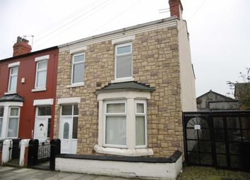 Thumbnail 4 bed terraced house for sale in Ash Grove, Wallasey, Wirral