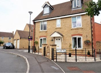 Thumbnail 5 bed detached house for sale in Newson Road, Swindon
