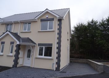 Thumbnail 3 bed semi-detached house to rent in Crud Yr Awel, Heolgerrig, Merthyr Tydfil