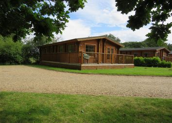 Thumbnail 2 bedroom mobile/park home for sale in Old Church Road, Frettenham, Norwich