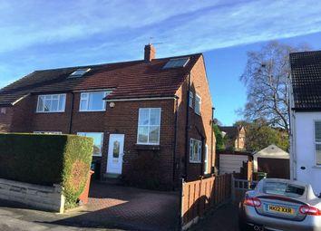 Thumbnail 3 bedroom semi-detached house to rent in Kirkwood Crescent, Cookridge, Leeds