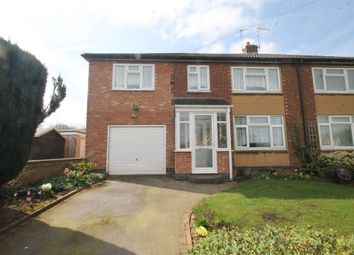 Thumbnail 4 bed semi-detached house for sale in Deans Way, Ash Green, Coventry