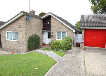Thumbnail 3 bed detached bungalow for sale in Newell Rise, Claydon, Ipswich, Suffolk