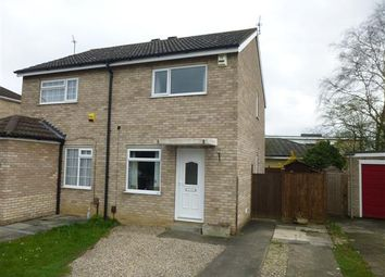 Thumbnail 2 bed semi-detached house for sale in Troutbeck, Woodthorpe, York