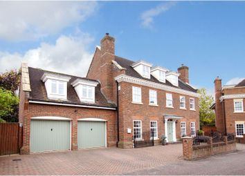 Thumbnail 6 bed detached house for sale in Crompton Drive, Warrington