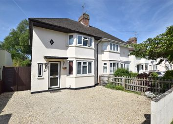 Thumbnail Semi-detached house for sale in Rosamund Road, Wolvercote, Oxford