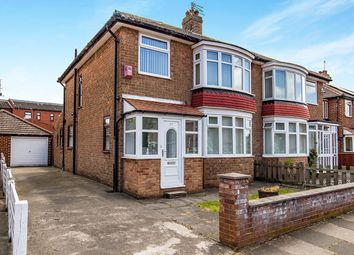 Thumbnail 3 bedroom semi-detached house for sale in Ruskin Avenue, Middlesbrough