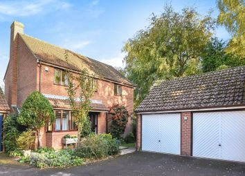 Thumbnail 4 bed detached house for sale in Anson Close, Marcham, Abingdon