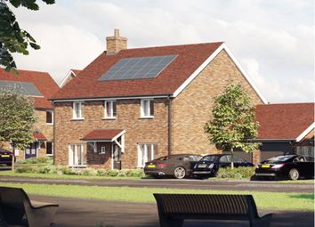 Thumbnail 4 bedroom detached house for sale in Meridian Fields, Hardwick, Cambridge