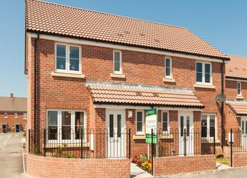 """Thumbnail 3 bedroom semi-detached house for sale in """"The Hanbury """" at Willow Walk, Crediton"""