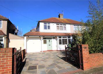 Thumbnail 3 bedroom semi-detached house for sale in Raeburn Road, Sidcup, Kent
