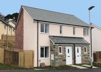 Thumbnail 2 bed terraced house for sale in Callington Road, Liskeard
