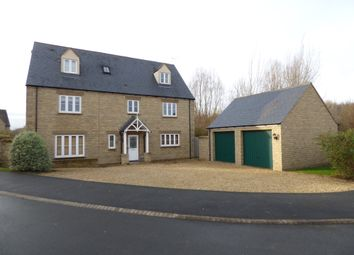 Thumbnail 5 bedroom detached house to rent in St. Julians Close, South Marston, Swindon