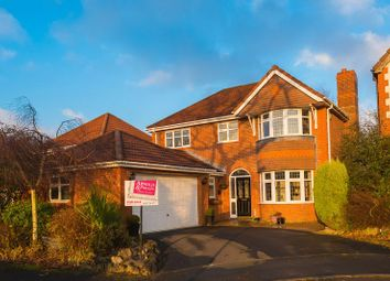 Thumbnail 4 bed detached house for sale in Great Wood Close, Chorley