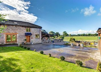 Thumbnail 6 bed barn conversion for sale in Brookhouse Lane, Timbersbrook, Congleton