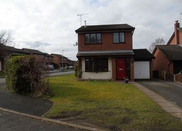 Thumbnail 3 bed detached house to rent in Charlcote Crescent, Crewe