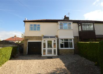 Thumbnail 4 bed semi-detached house for sale in Garth Grove, Menston, Ilkley, West Yorkshire