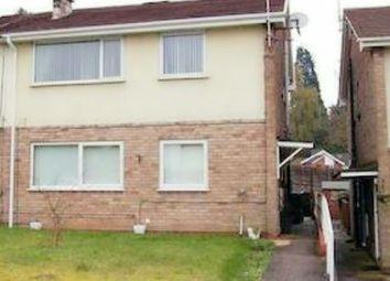 Thumbnail 2 bedroom flat to rent in Ivyfield Road, Erdington