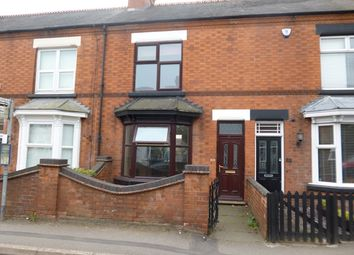 Thumbnail 3 bed terraced house to rent in Station Road, Ratby, Leicester.