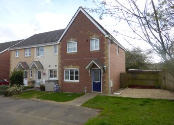 Thumbnail 3 bed semi-detached house for sale in St Peters Avenue, Llanharan, Pontyclun