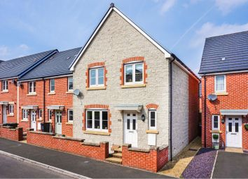 Thumbnail 4 bed end terrace house for sale in Carver Close - Stratton, Swindon