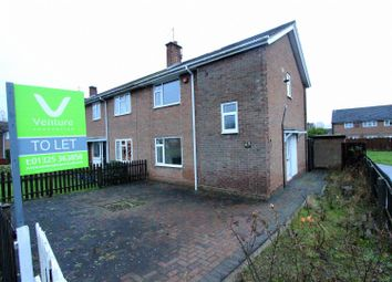 Thumbnail 2 bed end terrace house to rent in Emley Moor Road, Darlington