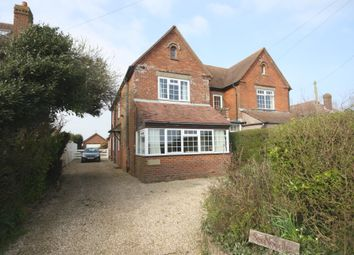 Thumbnail 3 bed semi-detached house for sale in Keyhaven Road, Milford On Sea