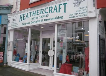 Thumbnail Retail premises for sale in 12 Coinagehall Street, Helston, Cornwall