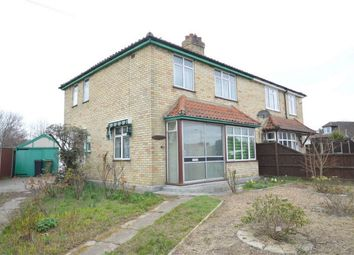 Thumbnail 3 bed semi-detached house for sale in Gurney Road, New Costessey, Norwich