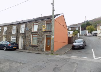 Thumbnail 3 bed end terrace house for sale in Tynybedw Street, Treorchy, Rhondda, Cynon, Taff.