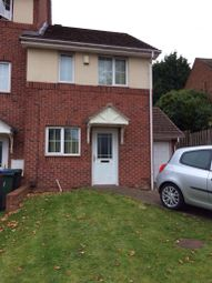 Thumbnail 2 bedroom end terrace house to rent in Denbigh Drive, West Bromwich
