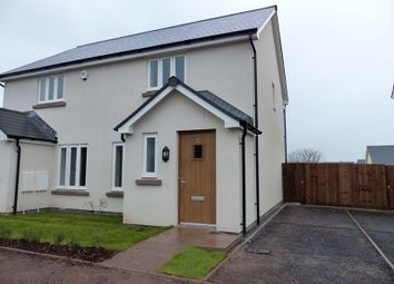 Thumbnail 2 bed semi-detached house to rent in St. Davids Park, Llanfaes, Brecon