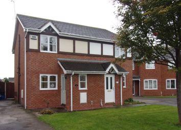 Thumbnail 2 bed semi-detached house for sale in Llys Trahaearn, Kinmel Bay, Rhyl