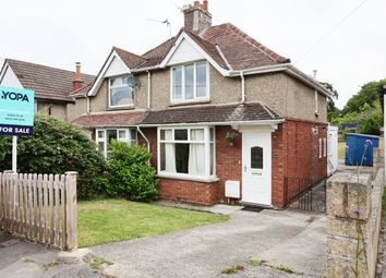 Thumbnail 2 bed semi-detached house for sale in Rowden Road, Chippenham