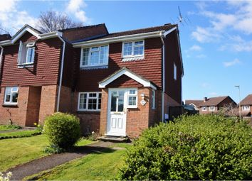 Thumbnail 3 bed end terrace house for sale in Periwinkle Close, Bordon