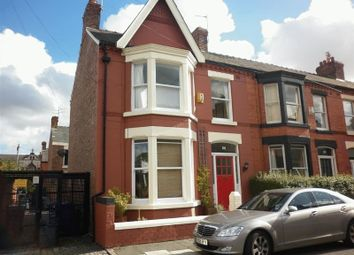 Thumbnail 3 bed terraced house to rent in Willowdale Road, Mossley Hill, Liverpool
