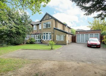 Thumbnail 4 bed semi-detached house for sale in Clay Hill, Enfield