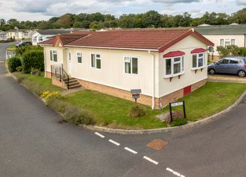 Thumbnail 2 bed mobile/park home for sale in 20 The Dell, Caerwnon Park, Builth Wells