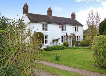 Thumbnail 3 bed cottage for sale in Stone Road, Hill Chorlton, Newcastle-Under-Lyme