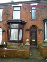 Thumbnail 3 bed terraced house to rent in Radcliffe Road, Bolton