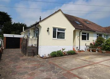 Thumbnail 3 bed semi-detached bungalow for sale in Aldwick Crescent, Findon Valley, Worthing